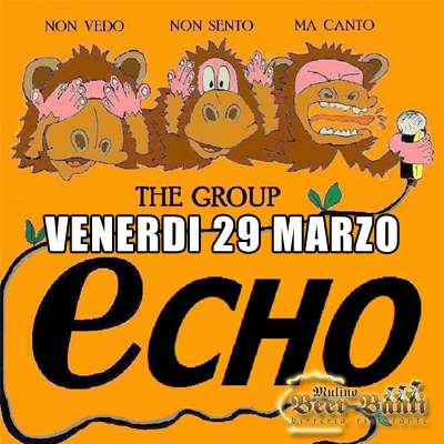 ECHO BAND live al MULINO!