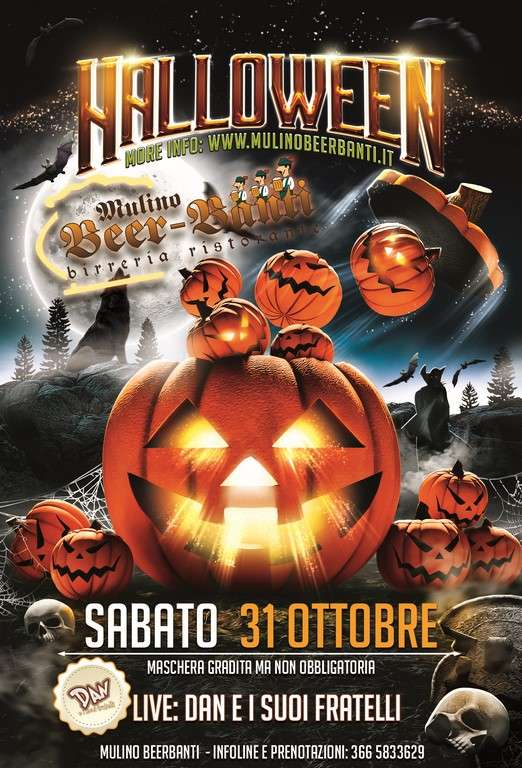 HALLOWEEN NIGHT con live