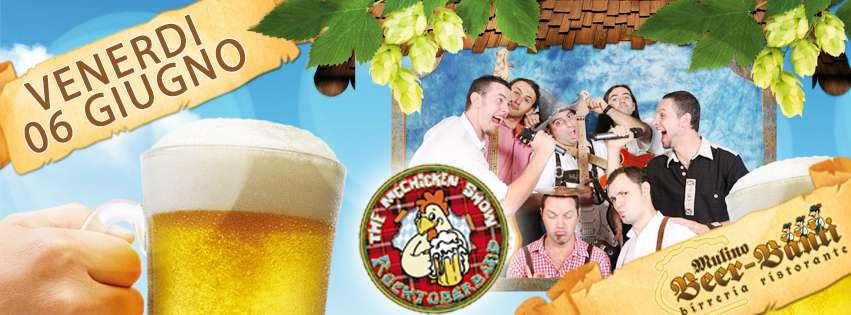 MC CHICKEN SHOW: LIVE il TRIBUTO ALL'OKTOBERFEST!