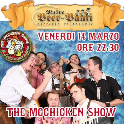 MC CHICKEN SHOW, tributo all'Oktoberfest!