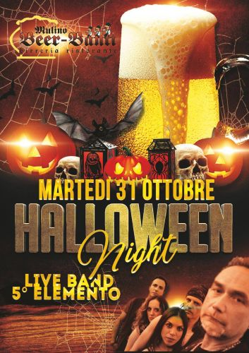 Halloween Night con live 5° Elemento!